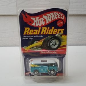 Hot Wheels Real Riders Beach Bomb Too Bus2003